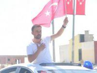 Terör örgütünün serbest bıraktığı gümrük memuru Hacı İcat, Gülnar'da konvoylar ile karşılandı