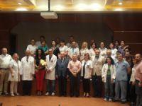 Avrasya Hospital doktorları ve sağlık çalışanları, Kurban Bayramı'nı hastanede kutladı