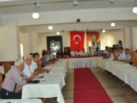Tarsus ve Mut'ta resmi bayramlaşma töreni gerçekleşti