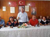 CHP Mersin Milletvekili Fikri Sağlar, Tarsus ve Çamlıyayla'da partililerle bayramlaştı