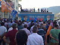 Lütfi Elvan, Aydıncık, Gülnar ve Mut'ta partililerle bayramlaştı