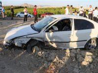 Mut'ta meydana gelen trafik kazasında 4 kişi yaralandı