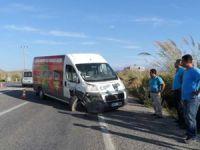 Anamur'da 2 araç çarpıştı: 1 yaralı