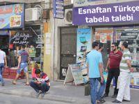 Mezitli esnafından Türkçe tabela talebi