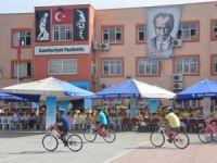 Mersin'de öğrencilere bisiklet dağıtıldı