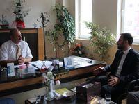 MHP Mersin Milletvekili Adayı Ali Yücelen, ziyaretlerini sürdürüyor
