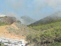 Bozyazı'da orman yangını çıktı