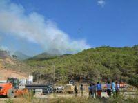 Bozyazı'da çıkan orman yangını kontrol altına alındı
