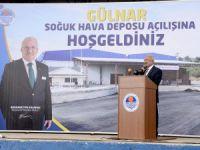 Gülnar'daki soğuk hava deposu törenle açıldı