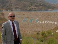 Açılış öncesi Vali Çakacak'tan Alaköprü Barajı'nda inceleme
