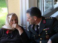 Mersin'de jandarmadan huzurevi ziyareti