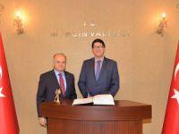 Ekvator Cumhuriyeti Dış Ticaret Bakanı Diego Aulestia, Mersin'i ziyaret etti