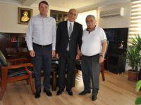 """Başkan Turgut'tan İzmir'e """"Hayırlı Olsun"""" ziyareti"""