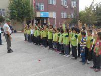 Erdemli'de Jandarma Trafik'ten öğrencilere eğitim