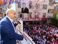 Lütfi Elvan, seçim çalışmaları kapsamında Gülnar ve Mut'u ziyaret etti