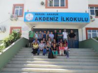 Akdeniz İlkokulu, Avrupalı konuklarını ağırladı
