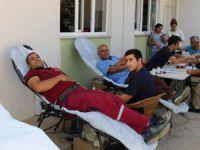 Bozyazılı ormancılar kan bağışında bulundu