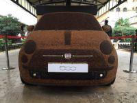 Kahveden Fiat 500 yaptılar!