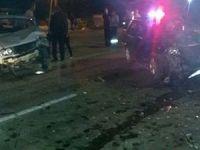 Anamur'da 2 araç kafa kafaya çarpıştı: 2 yaralı