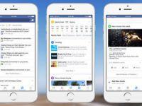 Facebook bildirim sekmesi güncelleniyor!