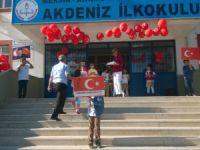 Akdeniz İlkokulu'nda Cumhuriyet Bayramı coşkuyla kutlandı