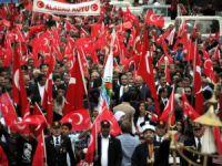 Toroslar'da Cumhuriyet Coşkusu, fener alayı ile yaşandı