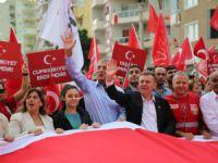 Mezitli'de Cumhuriyet coşkusu yaşandı