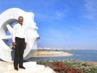 Mezitli sahiline Kadın, Özgürlük ve Barış Anıtı yapıldı