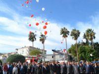 Atatürk, Bozyazı'da törenle anıldı