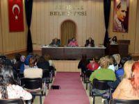 Akdeniz Belediyesi Kadın Meclisi toplandı