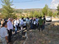 Silifke Belediyesi Evkafçiftliği'nde çevre düzenlemesine başladı