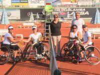 Tekerlekli Sandalye Türkiye Tenis Şampiyonası Mersin'de yapıldı