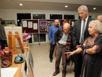 """Mezitli'de """"Başöğretmene Saygı"""" sergisi açıldı"""
