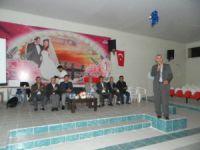 Bozyazı'da kapalı sulama suyu sistemi bilgilendirme toplantısı yapıldı