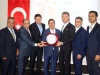 Mersin Girişimci İş Adamları Derneği Başkanı Mehmet Serkan İzol, Güney ve Güneydoğu Genç İş Adamları Federasyonu Başkanı seçildi