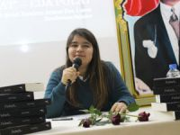 Anamurlu genç yazar Eda Polat, ilk söyleşisini okuduğu Şehit İbrahim Armut Fen Lisesi'nde yaptı