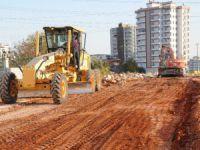 Yenişehir'de yeni yol açma çalışmaları devam ediyor