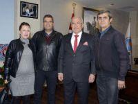 ANTİSK'ten Başkan Kocamaz'a ziyaret