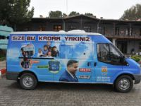 """Tarsus Belediyesi """"Şefkat Ekibi"""" kurdu"""