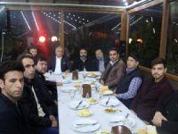 Erdemli Belediye Başkanı Mükerrem Tollu, gazetecilerle buluştu