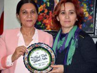 Alevi Kültür Dernekleri Kadın Kolları'ndan Eş Başkan Mutlu'ya ziyaret