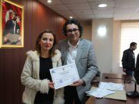 Erdemli'de girişimcilik kursiyerleri sertifikalarını aldı