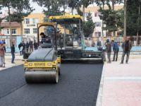 Yenişehir'de asfalt ve kaldırım çalışmaları sürüyor