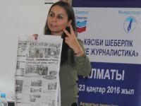 Türk ve Kazak gazetecileri buluşturan etkinlik