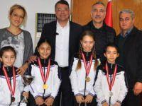 Silifke'de başarılı sporcular ödüllendirildi