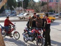 Mut'ta motosiklet denetimleri arttı