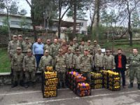 Mezitli'den Diyarbakır'a narenciye jesti