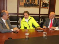 Çevre Komisyonu Üyeleri, CHP İl Başkanlığında Bir Araya Geldi