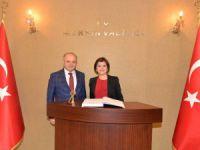 KKTC Dışişleri Bakanı Emine Çolak'tan Vali Çakacak'a Ziyaret