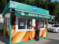 Mersin'de Halk Ekmek 11 Noktada Satışta
